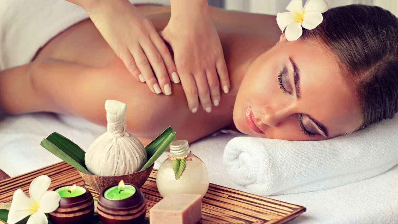 Aroma relaxační masáž